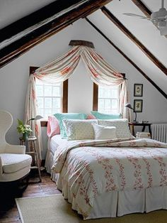 Si queréis darle un look rústico a vuestro dormitorio o acondicionar las habitaciones de una casa de campo en este estilo no dejéis de echar un vistazo a estas 19 ideas.