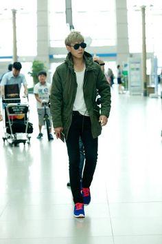 T.O.P of Big Bang - Airport Fashion