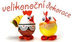 VELIKONOČNÍ DEKORACE - z polystyrenových vajíček