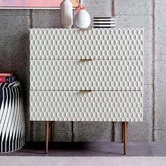 Audrey 3-Drawer Dresser #westelm--BEDROOM NIGHT TABLES