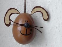 Osterei brauner Hase / Osterhase