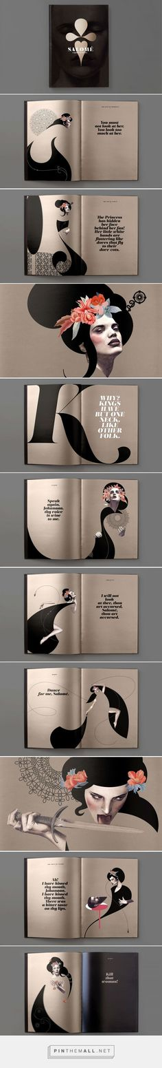 type specimen booklets collection on Behance - created via https://pinthemall.net