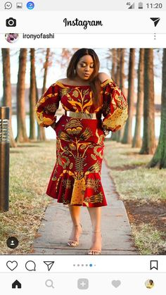 South African Traditional Dresses Designs: This resembled a white wedding dress yet the social and conventional hues, the examples and all things African Print Dresses, African Print Fashion, Africa Fashion, African Fashion Dresses, African Dress, African Clothes, Ankara Fashion, Ankara Dress, African Attire