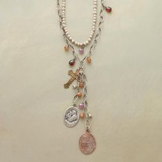 DOUBLY CHARMED NECKLACE