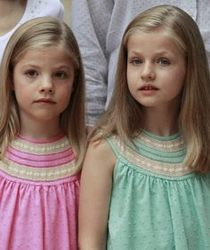MYROYALSHOLLYWOOD FASHİON:  Spanish Royal Family, Palma de Mallorca, August 5, 2014-Infanta Sofía and Infanta Leonor