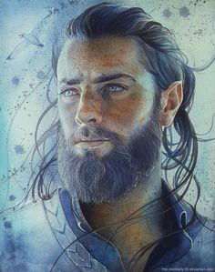 Half elf and leader of the Gottschalk elf hunting Militia. Fantasy Male, High Fantasy, Fantasy World, Male Character, Character Portraits, Dnd Characters, Fantasy Characters, Fantasy Inspiration, Character Inspiration