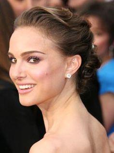 Natalie Portman, Oscars best hair and make-up, celebrity photos, Marie Claire