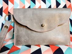 Make this Homemade Holiday Gift: Leather Wristlet — HOMEMADE HOLIDAY GIFT IDEA EXCHANGE: PROJECT #13 | Apartment Therapy