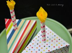 Paper Cake Slices   Martha Stewart Scoring Board
