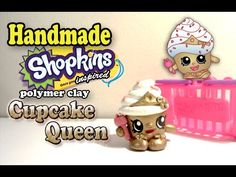 How To Make Shopkins: Cupcake Queen Polymer Clay Tutorial! - YouTube