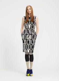 Okra print dress by Marimekko