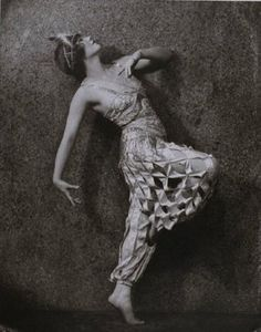 Gilda Gray,  Shimmy dance. slated pants.