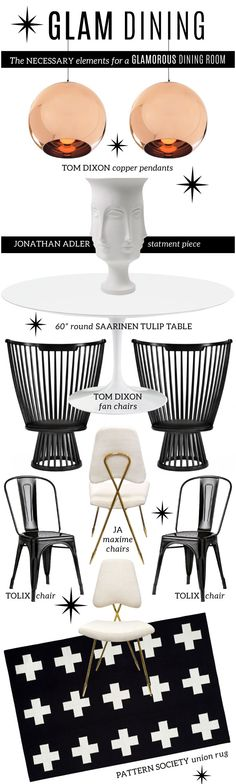 GLAM Dining. The only way to dine! | cynthia reccord