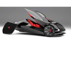 Winged Concept Cars - The McLaren JetSet Would Fly Through Traffic with its Streamlined Form
