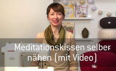 Nähtutorial: Meditationskissen selber nähen (mit Video!)