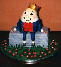 Humpty Dumpty theme cakes