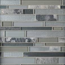 Luna Linear Glass Mosaic In 2020 Mosaic Glass Glass Tile Backsplash Kitchen Decorative Glass Tile