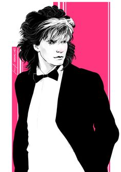 John Taylor from Duran Duran #johntaylor #duranduran #1980s #fanart #digitalart