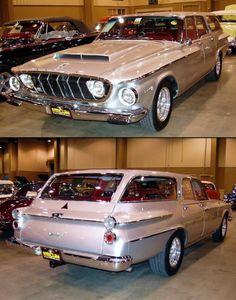 Wagon Wednesday (62 Dodge Max Wedge 413)