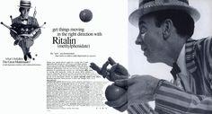vintage pharmaceutical ad ritalin