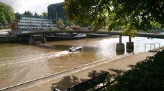 Theatre Bridge, Aura River, late summer 2014