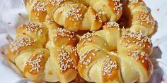 ~ Recepti i Ideje Dessert Recipes, Desserts, Bagel, Doughnut, Food And Drink, Bread, Basket, Deserts, Desert Recipes