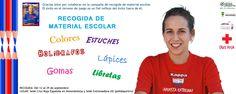 Queremos agradecer a todas las personas que están entregando material escolar. Al igual que Aitor, jugador del Extremadura UD, puedes colaborar y conseguir que niños, con problemas socio económicos, dispongan de material para su formación. #soloparavalientes #accionsocial