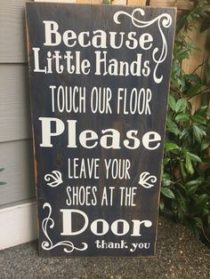 This fantastic sign says it all! These are hand painted, sanded and made from…