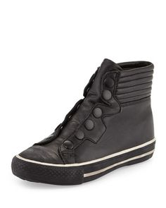Vespa High-Top Sneaker, Black/White by Ash at Neiman Marcus Last Call.