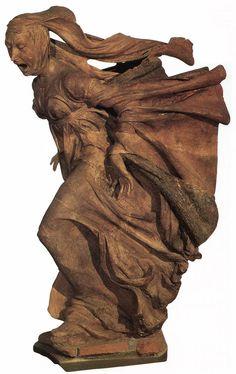 DELL' ARCA Niccolò ~ 1463 Figure from the Lamentation over the Dead Christ. / Chiesa di S. Maria della vita, Bologna