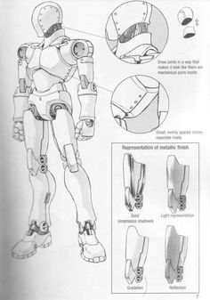 Figure Drawing Models Drawing the Fashion Figure Fashion Figures Arte Robot, Robot Art, Robot Concept Art, Armor Concept, Design Reference, Drawing Reference, Pose Reference, Character Concept, Character Art