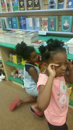 Day 22 Barnes & Noble with Amirah