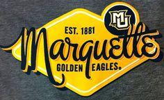 Marquette Golden Eagles tee shirt at the Spirit Shop