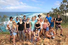 Hanging at Indian Head - Lukas Borowski has generous shared this shot with new found friends on Fraser.  Cool Dingo guided 2 and 3-day tours of Fraser Island #cooldingo #fraserisland #queensland #australia