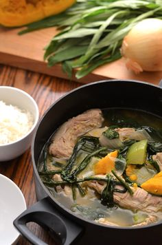 Filipino Pork Stew with Vegetables