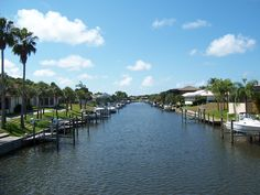 The canal in Venice, Florida...spent 10 days here!