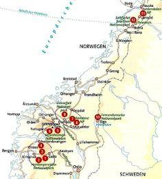 Rondreis Noorwegen #roadtrip #norway