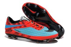 quality design 95b01 38a2b Now Buy Nike Hypervenom Phantom Premium FG Soccer Cleats Red Blue Black  Save Up From Outlet Store at Lebronshoes.