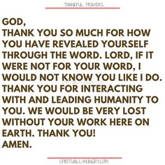 Here's a great batch of 30 thankful prayers for you. We are given so much, often times we focus on what we don't have or what we want, instead of being thankful for all that we have. These 30 short prayers will help you foster a thankful heart. Prayer Of Thanks, Prayer For Guidance, Prayer For Today, Guidance Quotes, Prayer Verses, God Prayer, Power Of Prayer, Prayer Room, Faith Prayer