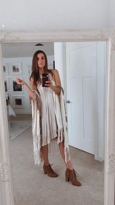 Fits sizes extra small to medium White Poncho, Off White, High Low, Bohemian, Beige, Medium, How To Wear, Closet, Dresses