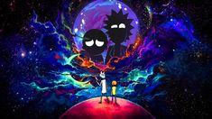 2560x1440 Rick and Morty in Outer Space 1440P Resolution Wallpaper, HD TV Series 4K Wallpapers, Images, Photos and Background - Wallpapers Den