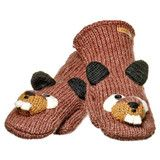 Barkley the Beaver Mittens | Knitwits Animal Hats