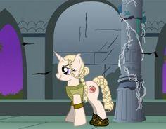 Daenerys Targaryen as a My Little Pony because why not?