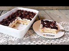 YouTube Tiramisu, No Cook Desserts, Dessert Recipes, Lily Collins, Ice Cream Recipes, Waffles, Pudding, Cooking, Breakfast
