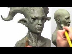 Sculpting Expressions new DVD from John Brown http://www.figuresandfocus.com http://www.dimclay.com