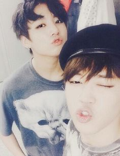 Image via We Heart It https://weheartit.com/entry/145155961 #kpop #bts #jimin #jungkook #bangtanboys.