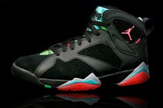 best sneakers cefff 7a986 Nike air jordan 7 vii retro - marvin the martian -- bg gs youth