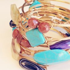 How do you stack your #beau #bracelets?!? Now available at sweetbluegifts.com
