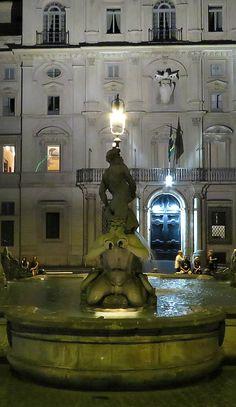 Fontano del Moro in Rome