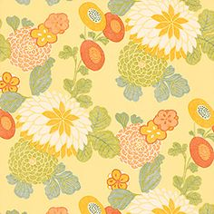 """T3222 PatternCOCO  Wallpaper CollectionChelsea ColorwayYellow ConstructionWallpaper Width27.00""""(68.58 cm) Repeat V24.00""""(60.96 cm) Match Straight Strippable Washable Unpasted Pretrimmed"""